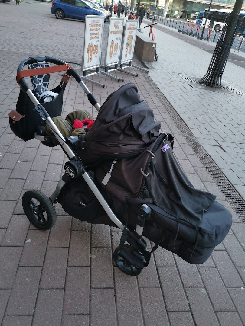Baby jogger city select tuplarattaat