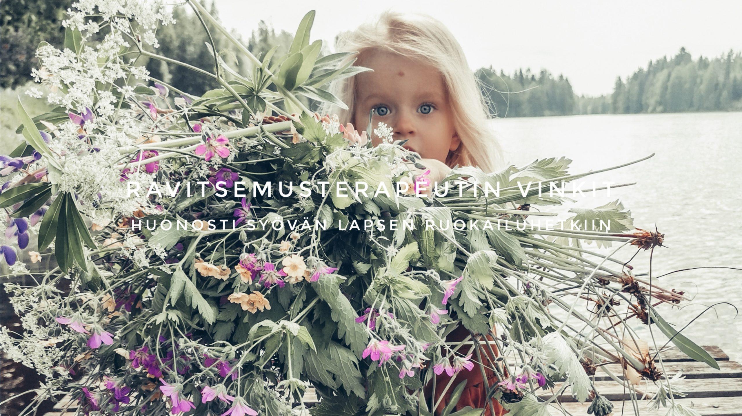 ravitsemusterapeutin vinkit lapselle