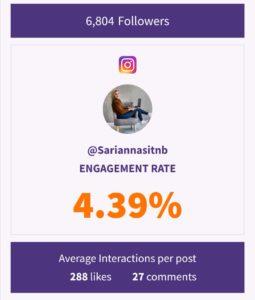 instagram sitoutuvuus