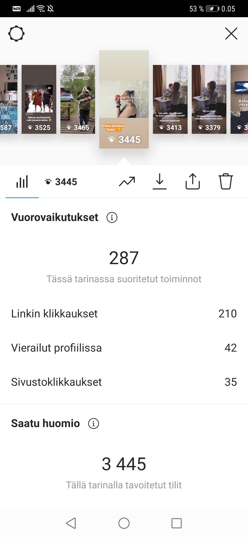 swipe up instagramiin alle 10 000 seurajaa