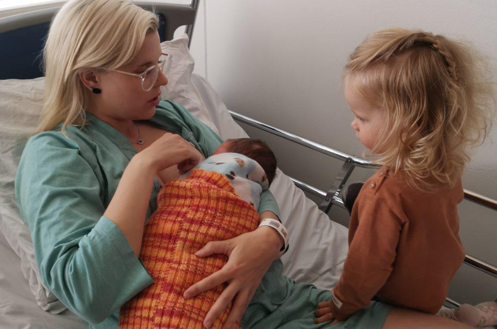 isosisko synnytyslaitoksella