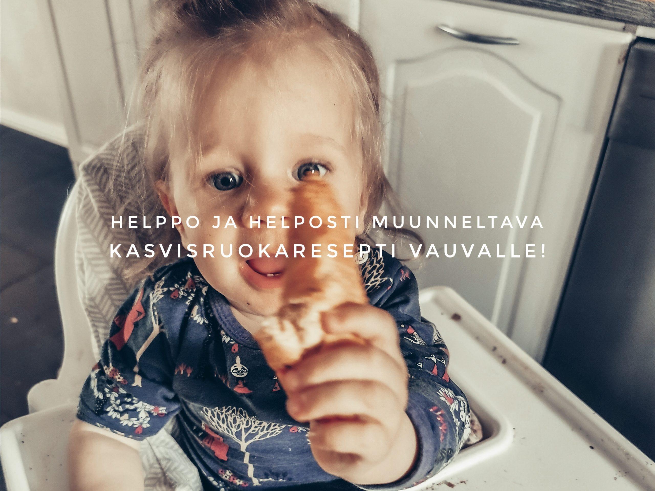 vauvan kasvisruoka