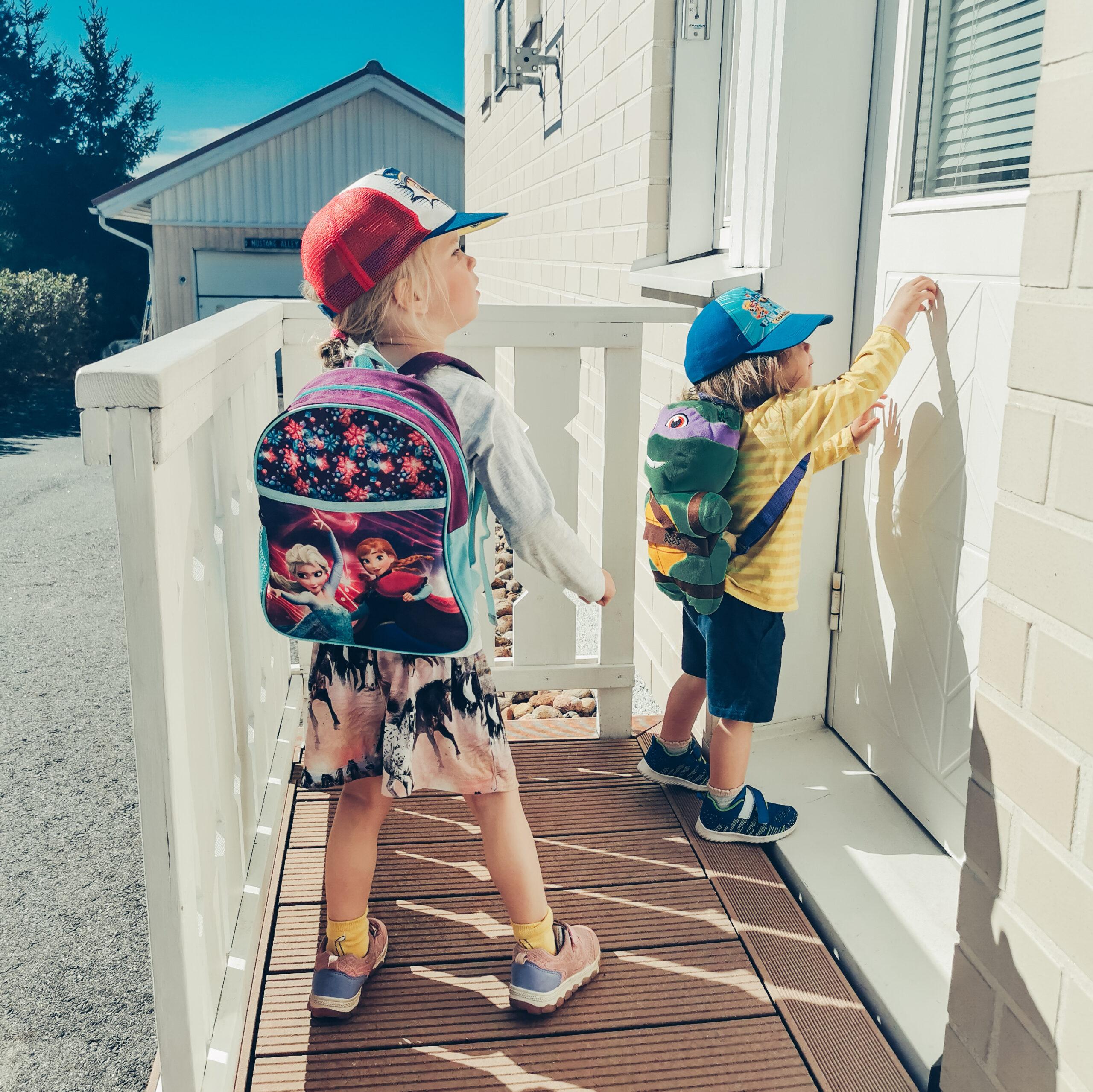päiväkoti ja lapset